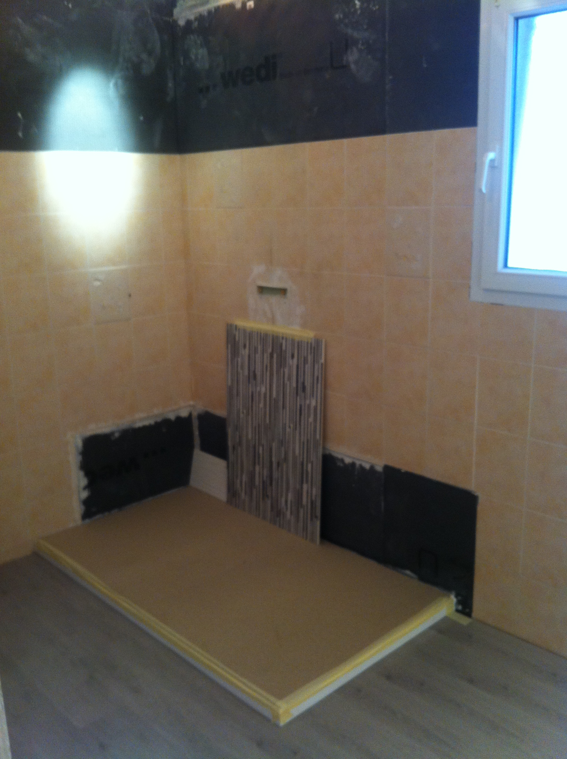 panneau renovation salle de bain with panneau renovation. Black Bedroom Furniture Sets. Home Design Ideas