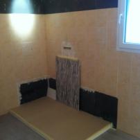 chantier ART'34 salle de bain 1