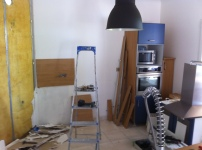 ART'34 chantier cuisine GUZARGUES